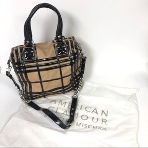 Badgley Mischka A.G. leather purse satchel cross
